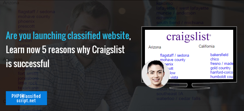 Are you launching classified website, Learn now 5 reasons why Craigslist is successful